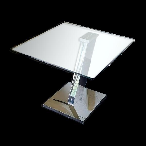 Table en verre design