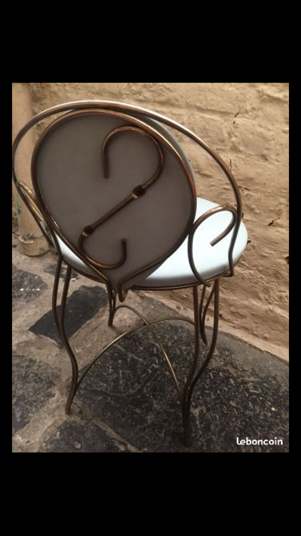 Chaise coiffeuse Pearl Wick NYC