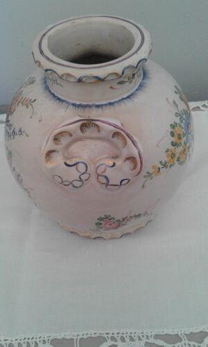 Vase ancien de la faiencerie de Clamecy