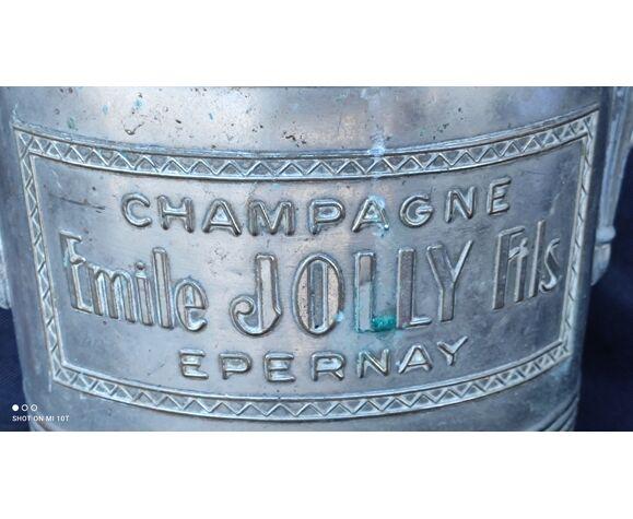 Ancien seau a champagne Émile Jolly Fils Epernay