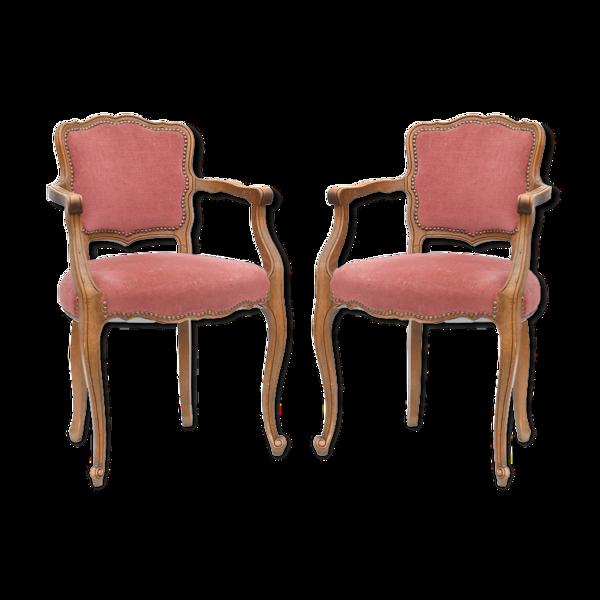 Paire de fauteuils bridges