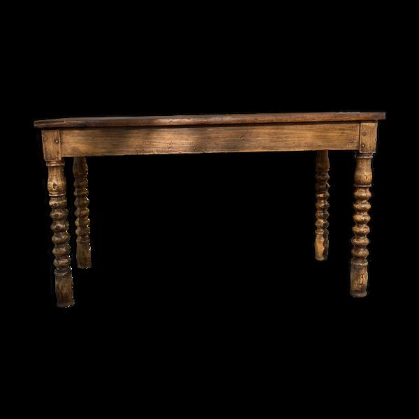 Selency Ancienne table de ferme
