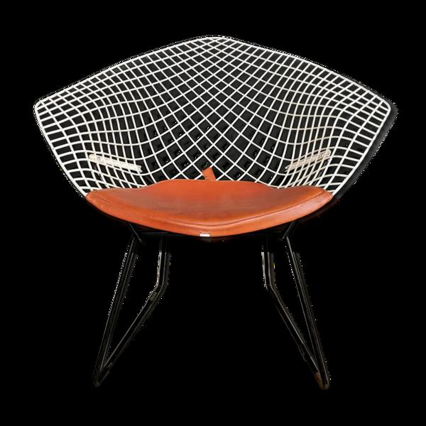 Fauteuil diamond modèle 421 par Harry Bertoia pour Knoll
