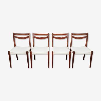 Set de 4 chaises scandinave
