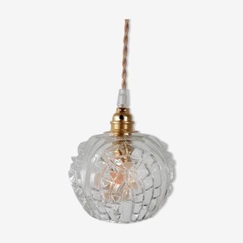 Vintage globe pendant lamp
