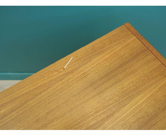 Commode en teck, design danois, années 1970, fabriqué au Danemark