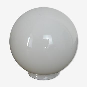 Globe en verre blanc ø13