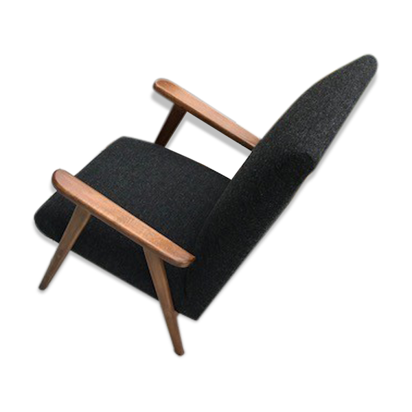 Paire de fauteuils de travail français  1970