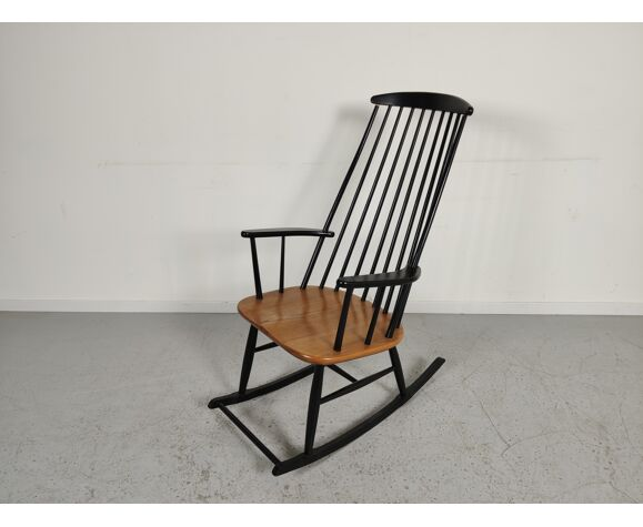Rocking chair scandinave années 60