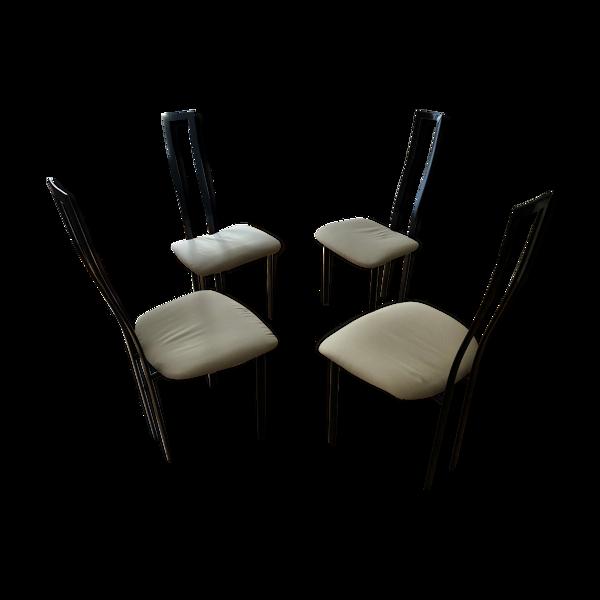 Lot de 4 chaises Cinna