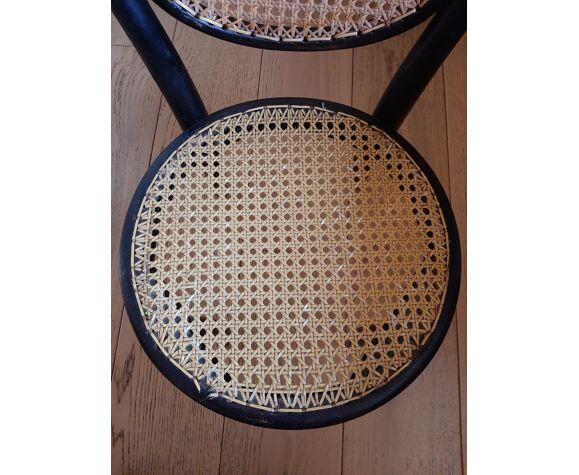 Chaise de bistrot pour enfant signé Thonet Napoléon III