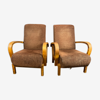 """Two armchairs """"sloths"""" from the 1940s"""