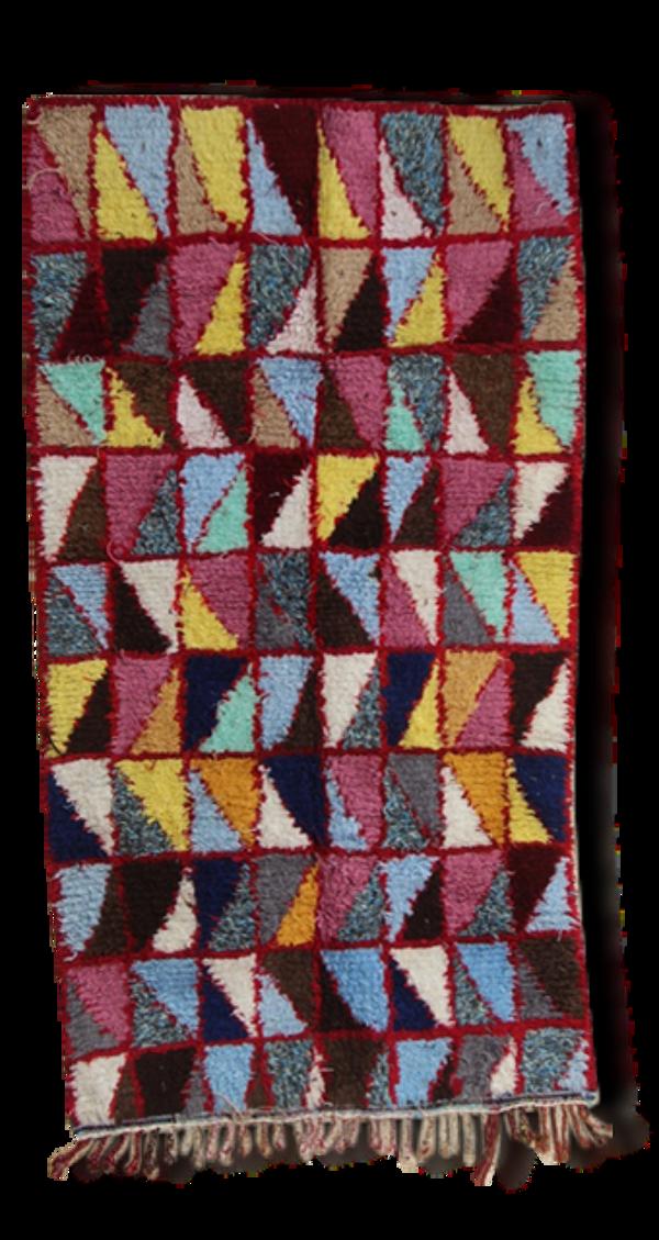 Tapis Kilim boucherouite  230x125