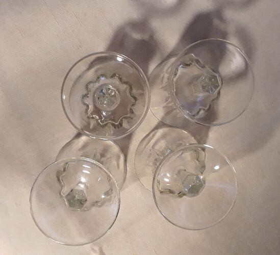 Set de 4 verres