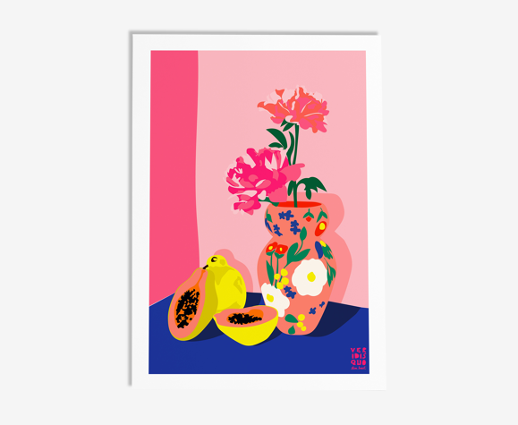 Papaya - illustration