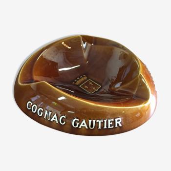 Cendrier publicitaire de bar cognac gautier