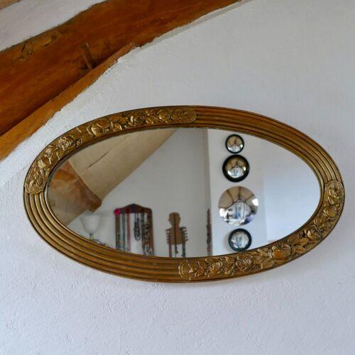 Miroir ovale 68 X 38 cm