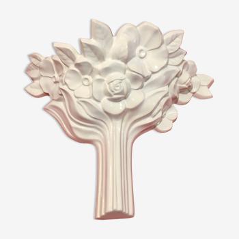 Applique bouquet de fleurs, 1980s