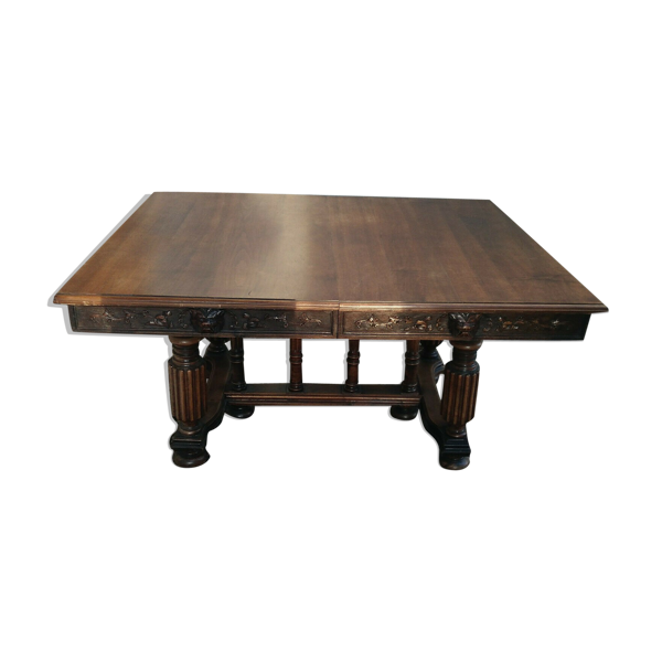 Table Renaissance en noyer