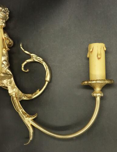 Applique, au putti musicien, style Louis XV