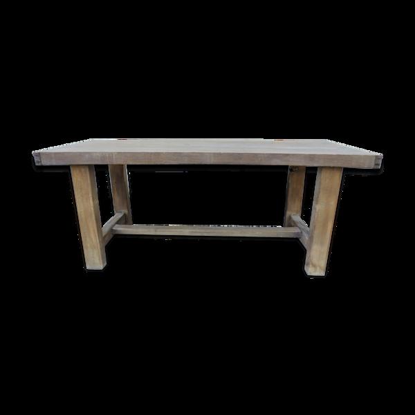 Table de ferme ancienne XIXi ème en hêtre