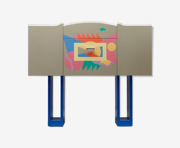 Meuble bar design italien Cantaride par Alessandro Medini pour Zanotta