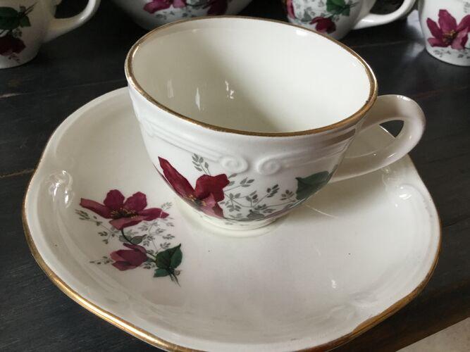 Coffee service Gien model elegance