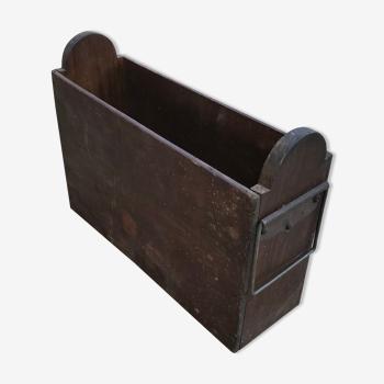 Porte-revue en bois