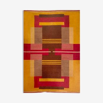 Tapis en laine dessiné par Antonin Kybal, 1948 - 345x240cm