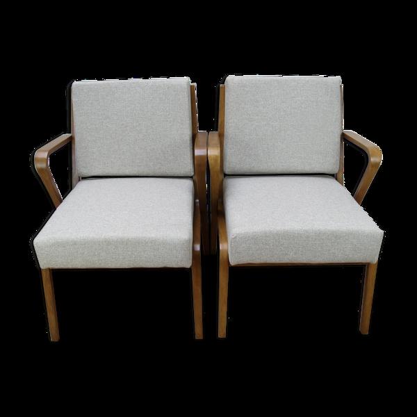 2 armchairs by Selman Selmanagic