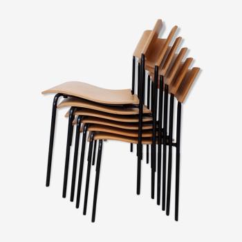 Set de 6 chaises  design scandinave