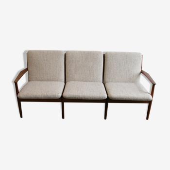 Canapé par Grete Jalk pour Glostrup Danemark