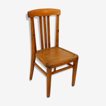 Wooden child chair