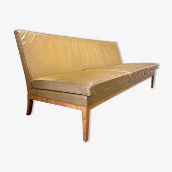 Canapé cuir design 1960 Kill International