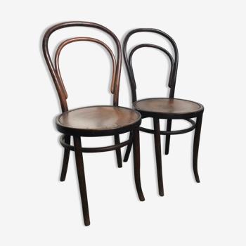 Ensemble de 2 chaises bistrot