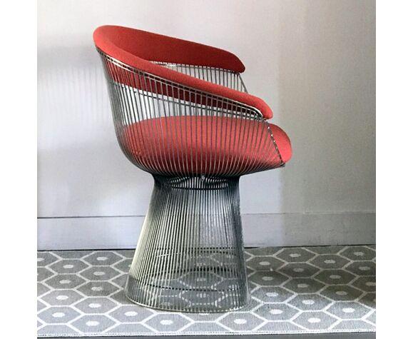 Paire de fauteuils Warren Platner