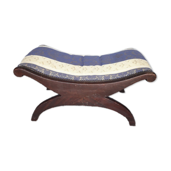 Tabouret bas repose pied style directoire ep 1940