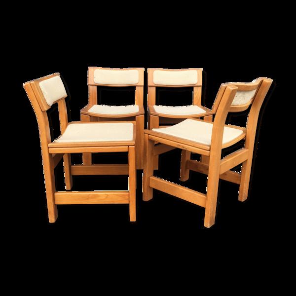 Ste de 4 chaises