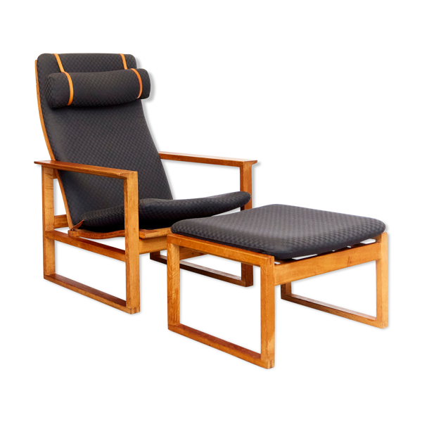 Lounge chair 2254 & ottoman 2248 Børge Mogensen for Fredericia