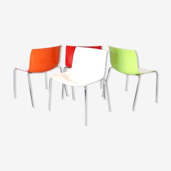 Set de quatre chaises Catifa