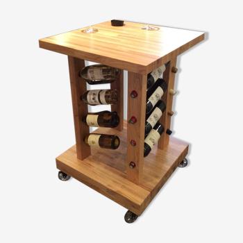 Bar dégustation de vins de chêne