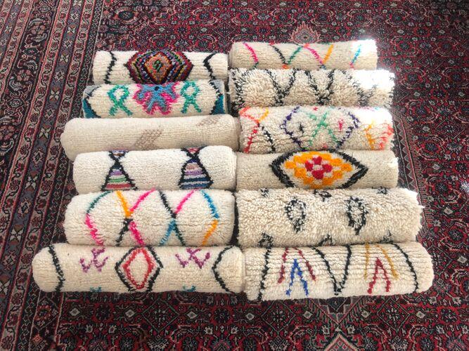Tapis berbere beni ouarain petit et épais
