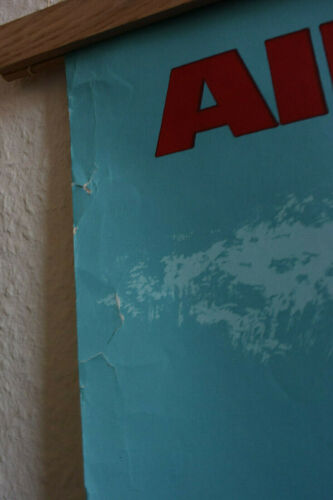 Air france affiche ancienne vintage