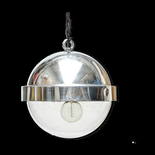 Suspension boule en  aluminium