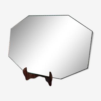 Miroir ciselé des années 60 38x27cm
