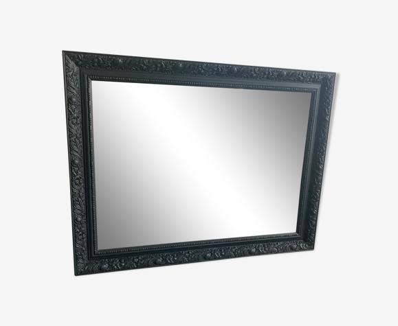 Miroir en bois mouluré 63x83cm