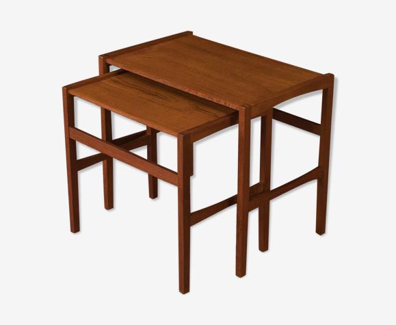 Tables gigognes des années 1960