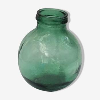 Dame-jeanne en verre viresa couleur verte 5 litres
