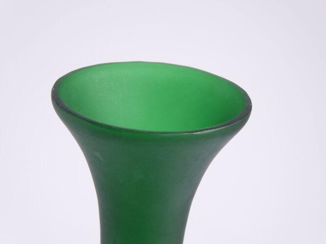 Vase soliflore vert