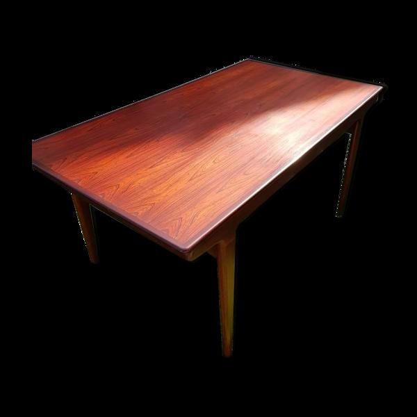 Selency Table scandinave en palissandre datant des années 60